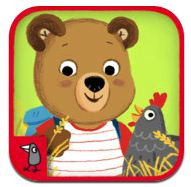 Best Kids' Apps Pick: Bizzy Bear on the Farm