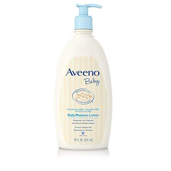 Best Lotion for Infants: Aveeno Baby Daily Moisture Lotion