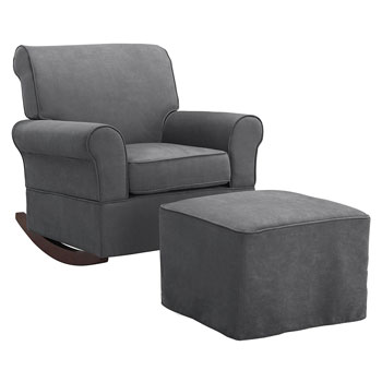 Baby Relax Microfiber Rocking Chair
