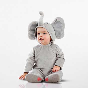PB Kids Halloween Costume Baby Elephant