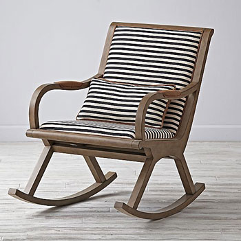 Crate and Barrel Rocking Chair