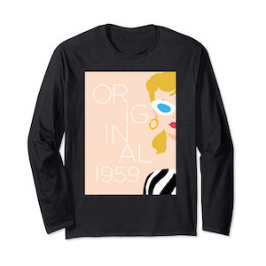 Barbie 60th Anniversary Original Long Sleeve T-Shirt