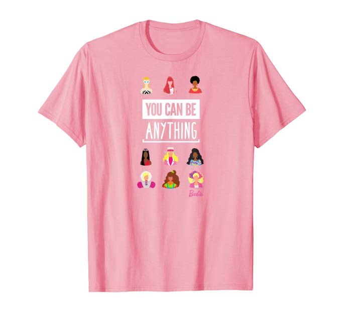 Barbie 60th Anniversary You Can Be Anything T-Shirt