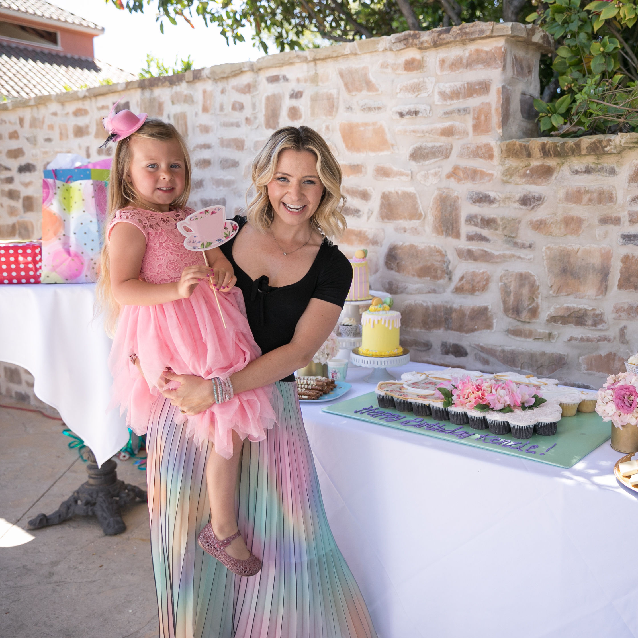 Actress Beverley Mitchell Reveals How She Threw Her Daughter the Perfect Birthday Tea Party