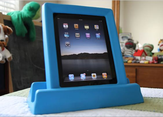 Kid-Proof Your iPad with Big Grips