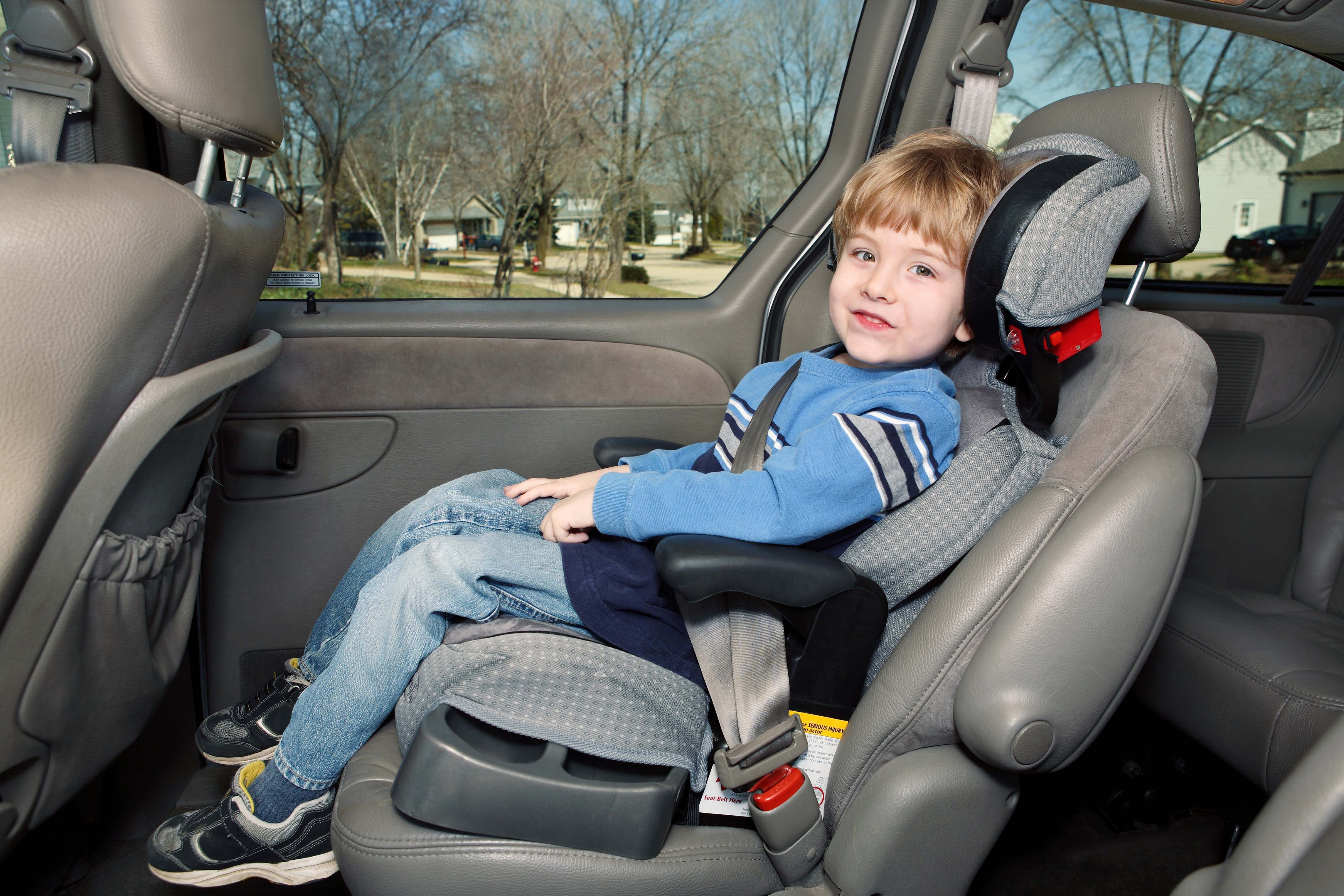 A Booster Seat: How to Know if Your Child Is Ready