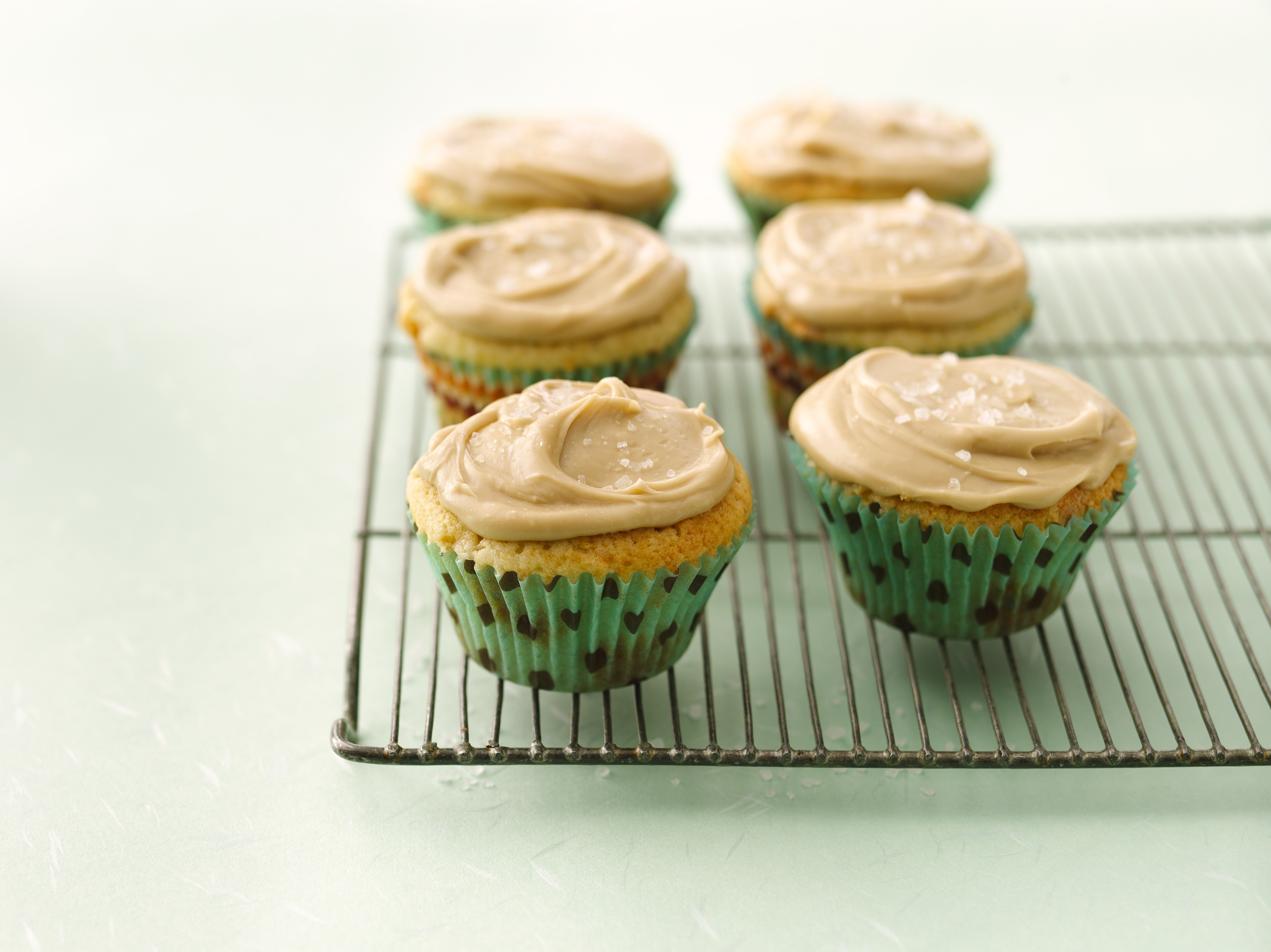 Butterscotch Cupcake Recipe with Caramel Frosting