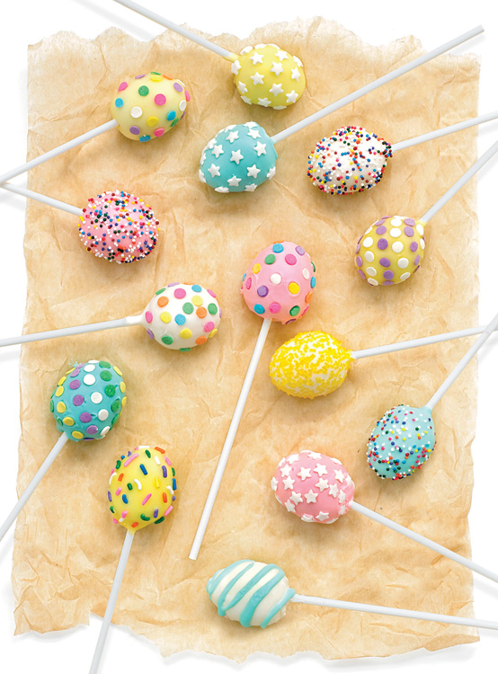 Carrot-Cake Easter Cake Pops