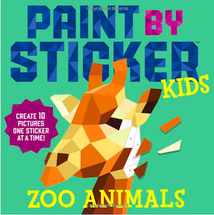 Paint by Sticker Activity Book