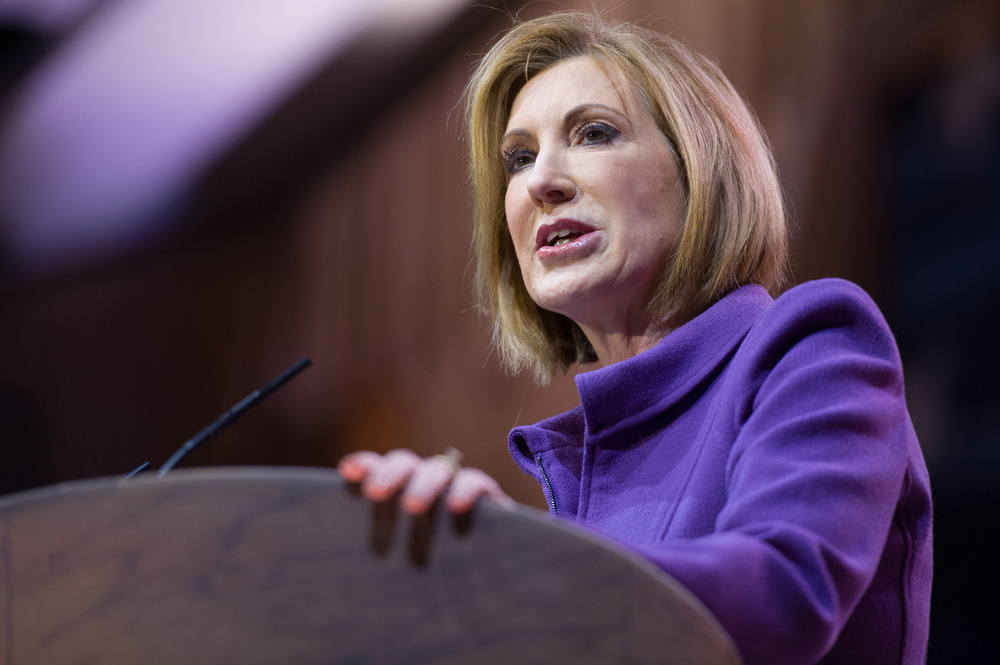 Carly Fiorina Ambushed My 4-Year-Old for Her Anti-Abortion Rally
