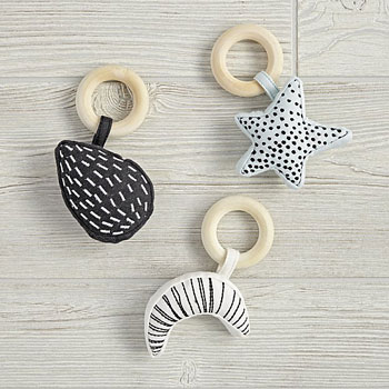 Best Gifts for Babies #4: Celestial Baby Rattles
