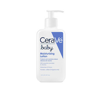 Best Lotion for Baby's Face: CeraVe Baby Moisturizing Lotion