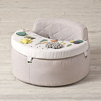 Crate & Barrel Busy Baby Activity Chair