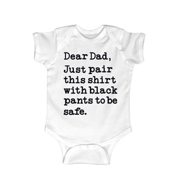 Dear Dad Onesie