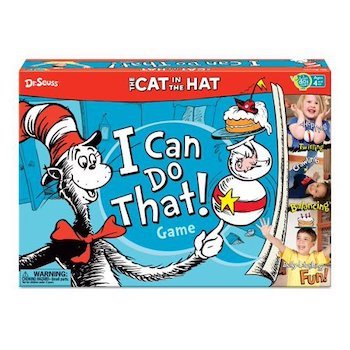 Wonder Forge Cat in the Hat I Can Do That! Game