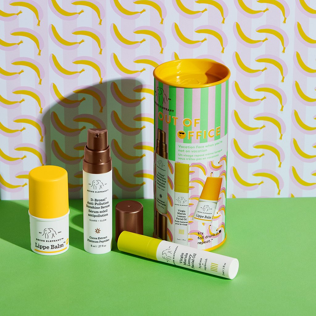 Drunk Elephant 'Out of Office' Skincare Set