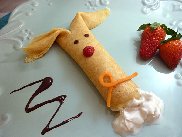 Easter Bunny Crepes Recipe