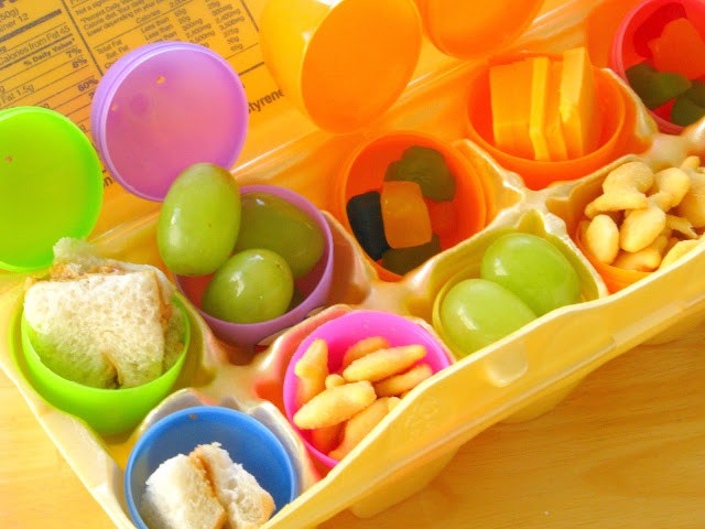 easter egg activities lunch hunt