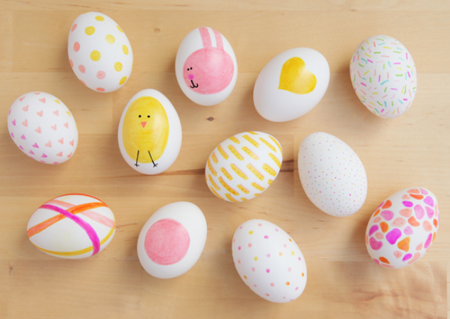 10 Whimsical Ways to Decorate Easter Eggs with a Sharpie