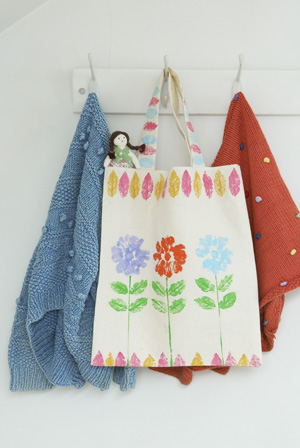 Painted Canvas Bags Craft