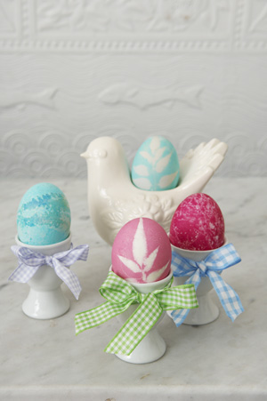Coloring Easter Eggs Craft