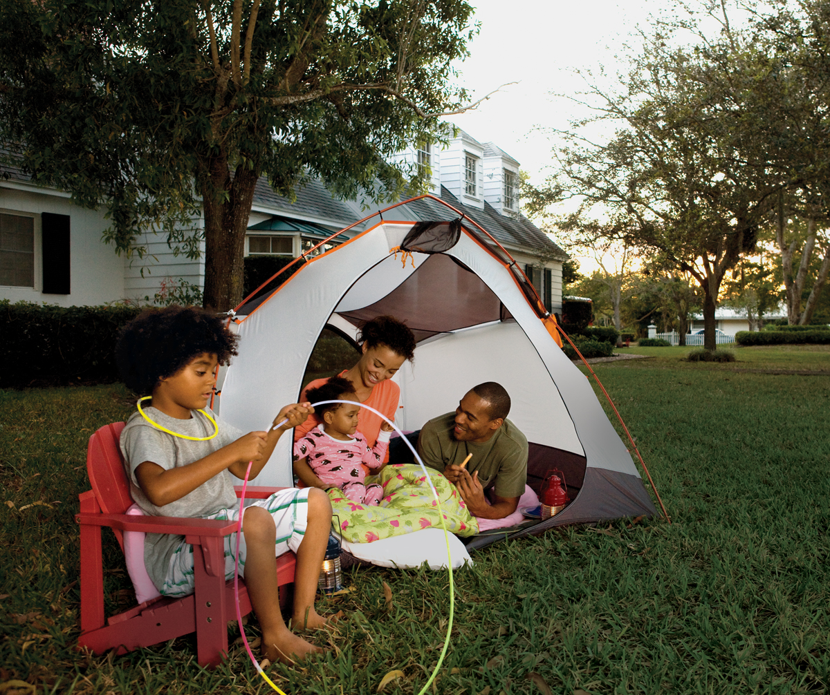 14 Ideas for Camping Out In Your Backyard - Parenting