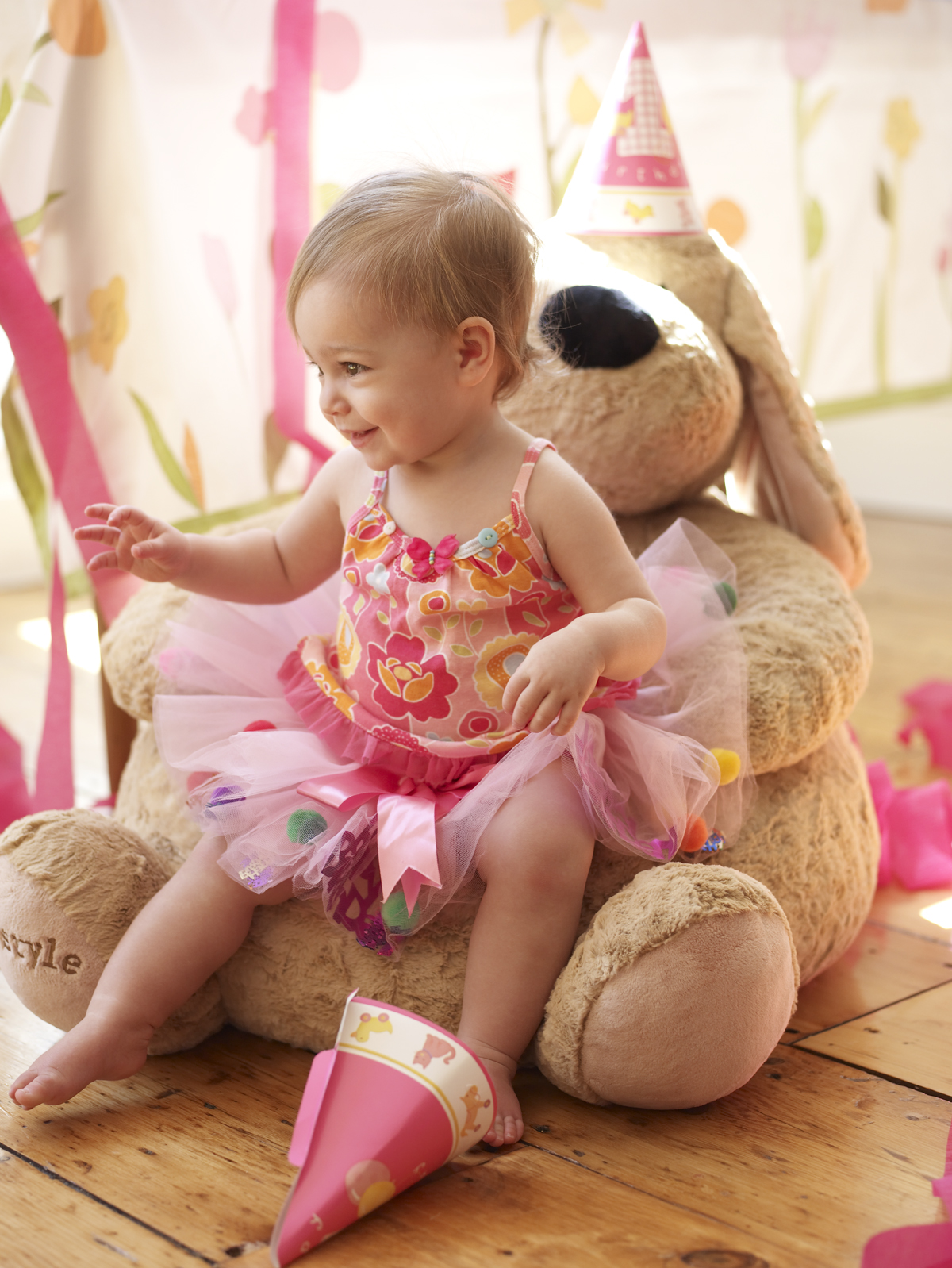 Babys First Birthday Teddy Bear