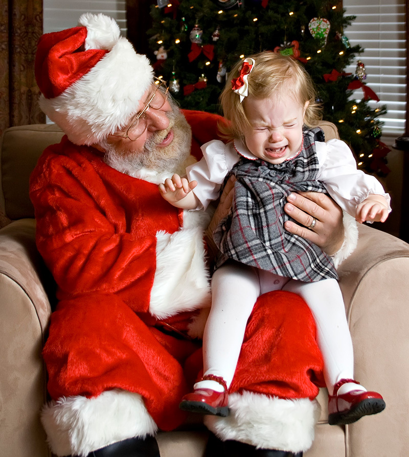 Why Forcing Kids to See Santa is a Bad Idea