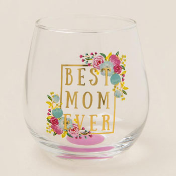 mothers day gift guide stemless wine glass