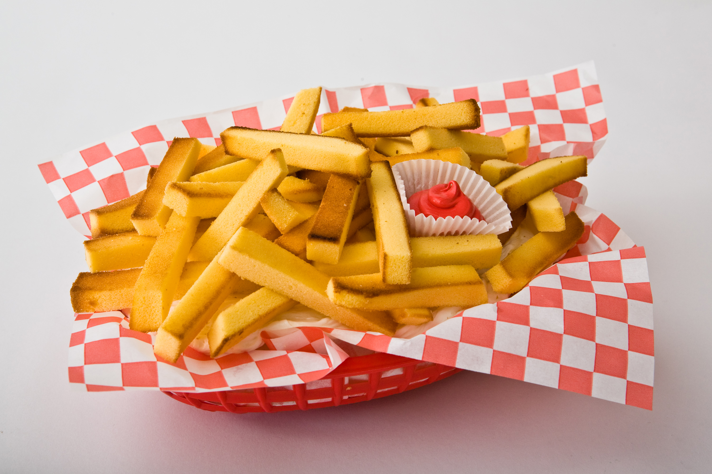 French Fries Birthday Cake Design