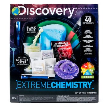 Gifts for Tweens Discovery Kids Extreme Chemistry Kit