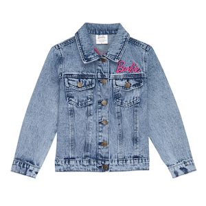 Girls' Barbie 60th Anniversary Denim Jacket