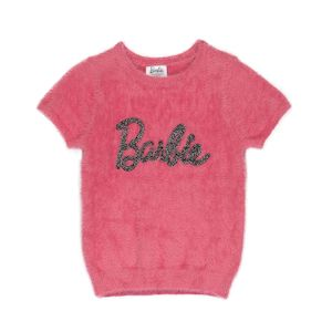 Girls' Barbie 60th Anniversary Short Sleeve Sweater