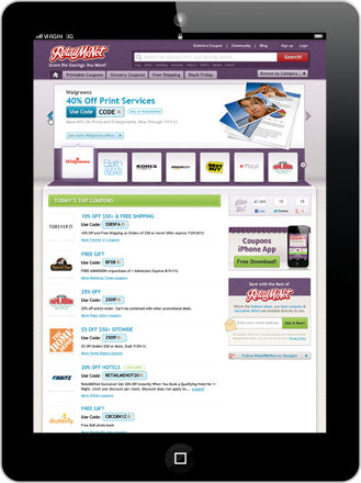 RetailMeNot Is Your Holiday Shopping Companion [iPad GIVEAWAY!]