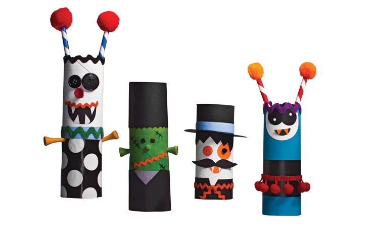 10 Halloween Crafts Made From Household Items