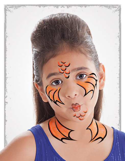 10 Easy Face Painting Ideas Paing