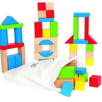 Hape Maple Wood Kid's Building Blocks