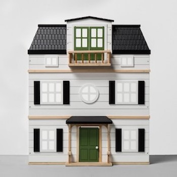 Wooden Dollhouse with Furniture from Hearth and Hand with Magnolia