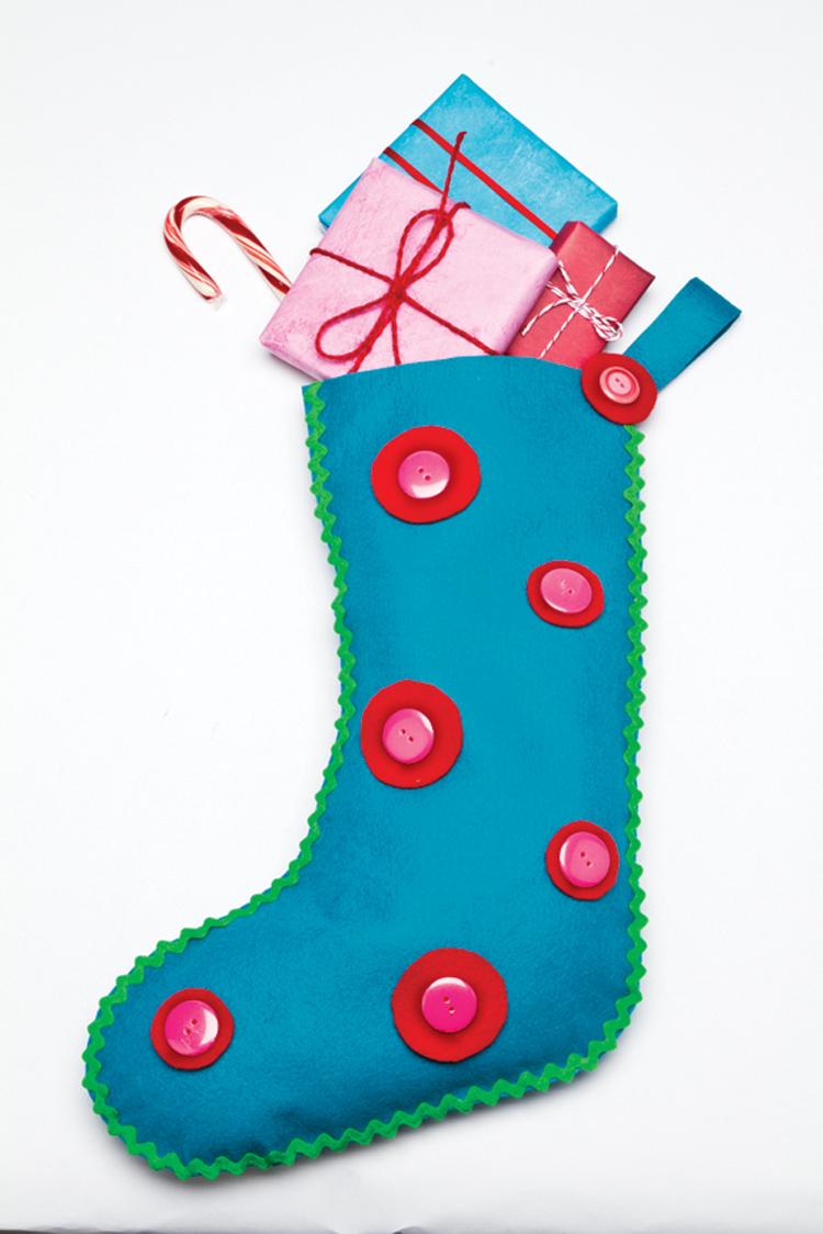 Christmas and Holiday Crafts for Kids Stocking