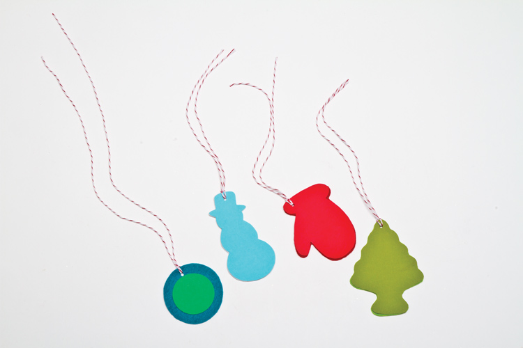 Christmas and Holiday Crafts for Kids Gift Tags