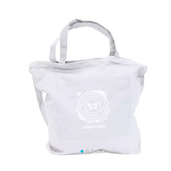 The Honest Company Canvas Tote Bag