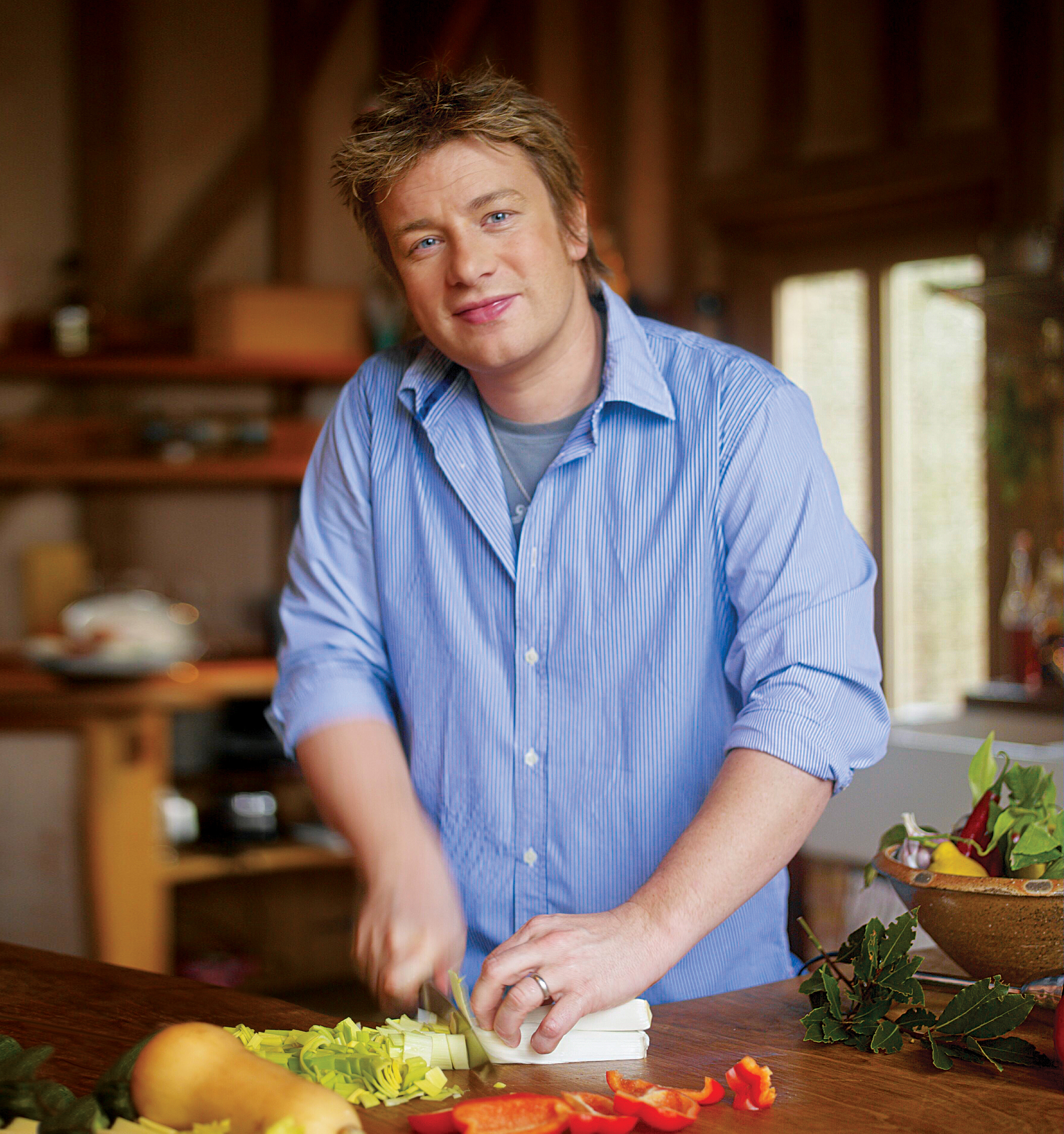Getting Fresh with Jamie Oliver