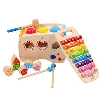 Joyshare Pounding Bench Xylophone and Shape Toys