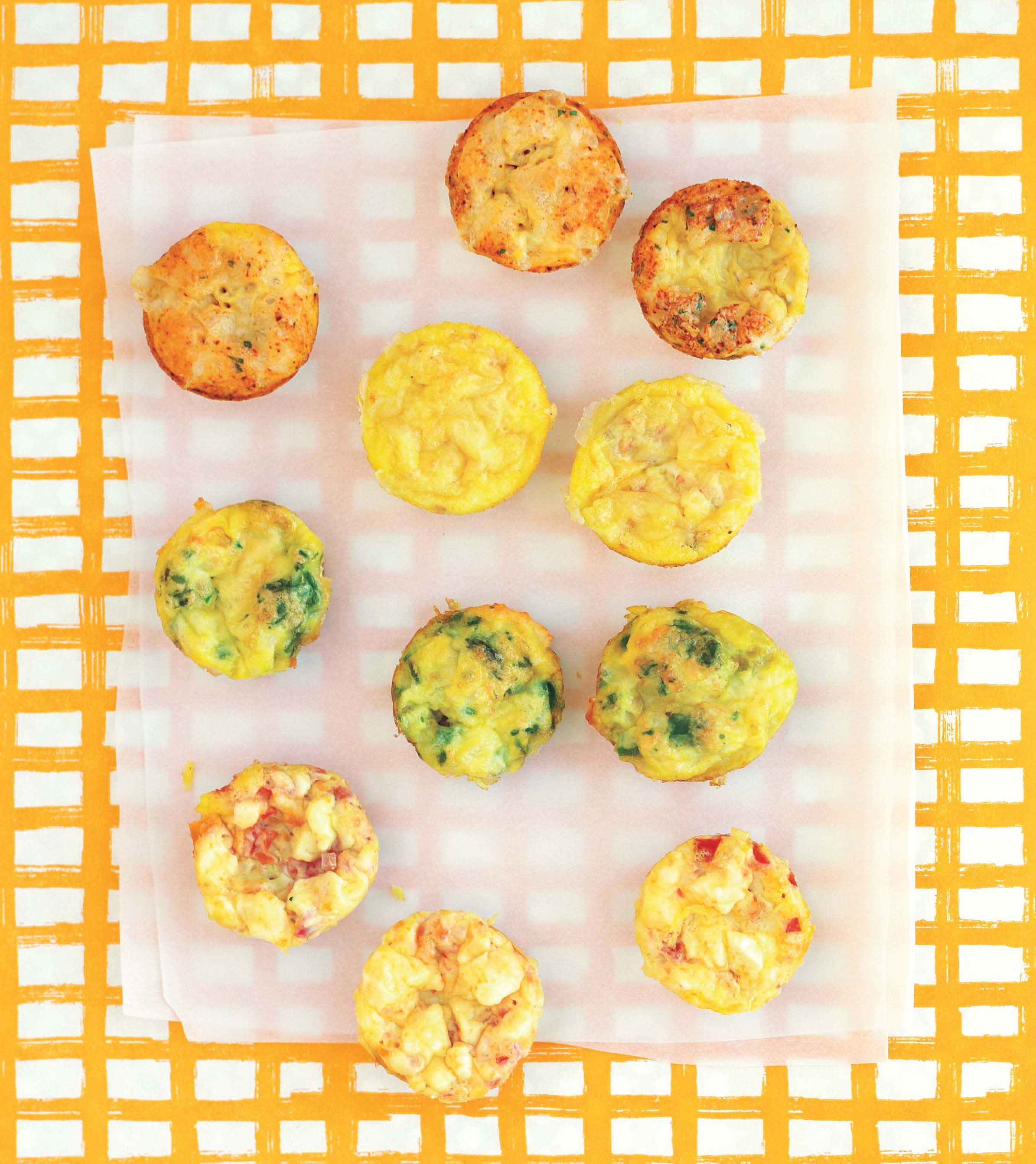 Spinach & Cheese Mini Frittatas