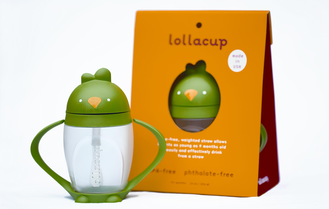 Lollaland Sippy Cups Make Drinking Easier & Safer for Tots