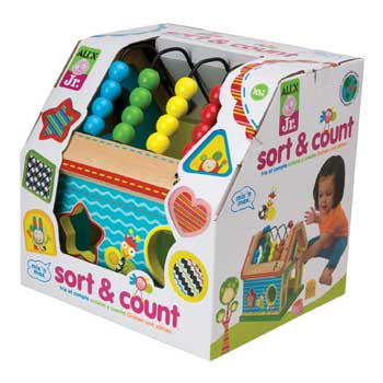 Alex Jr. Sort & Count