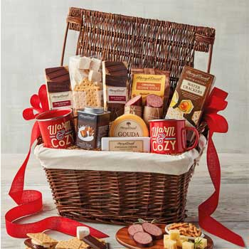 Luxury Gifts Mom & Dad Harry & David S'mores Basket
