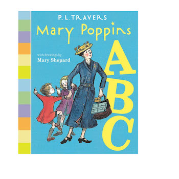 'Mary Poppins ABC Board Book' by Dr. P. L. Travers, Mary Shepard