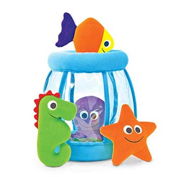 Melissa & Doug Deluxe Fishbowl Fill and Spill