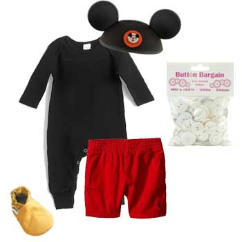 Mickey Mouse Infant Halloween Costume